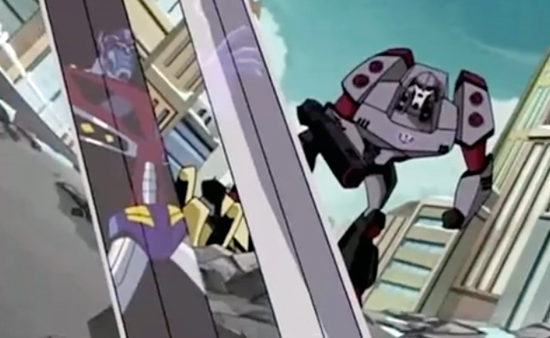 7 Megatron returns iN Transformers Animated