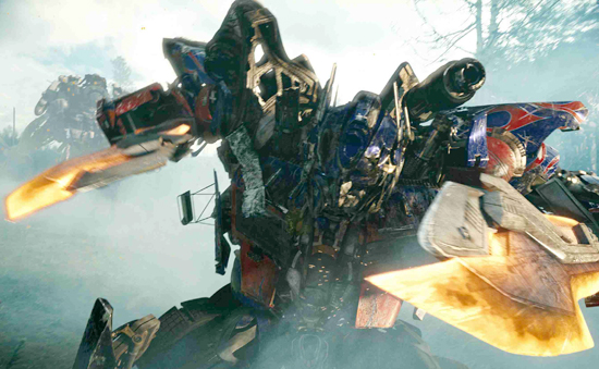 8 Transformers Movie Revenger of the Fallen forest scene