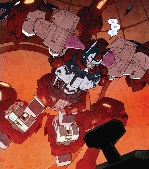 9 Overlord discovered in the cargo of the lost light more than meets the eye