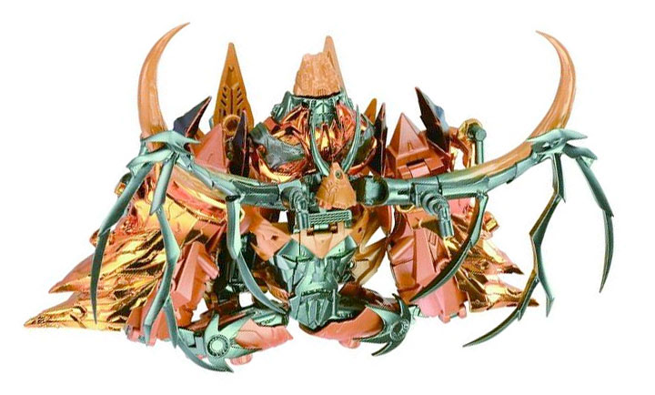WTF alert: Arms Micron Unicron turns into his FACE