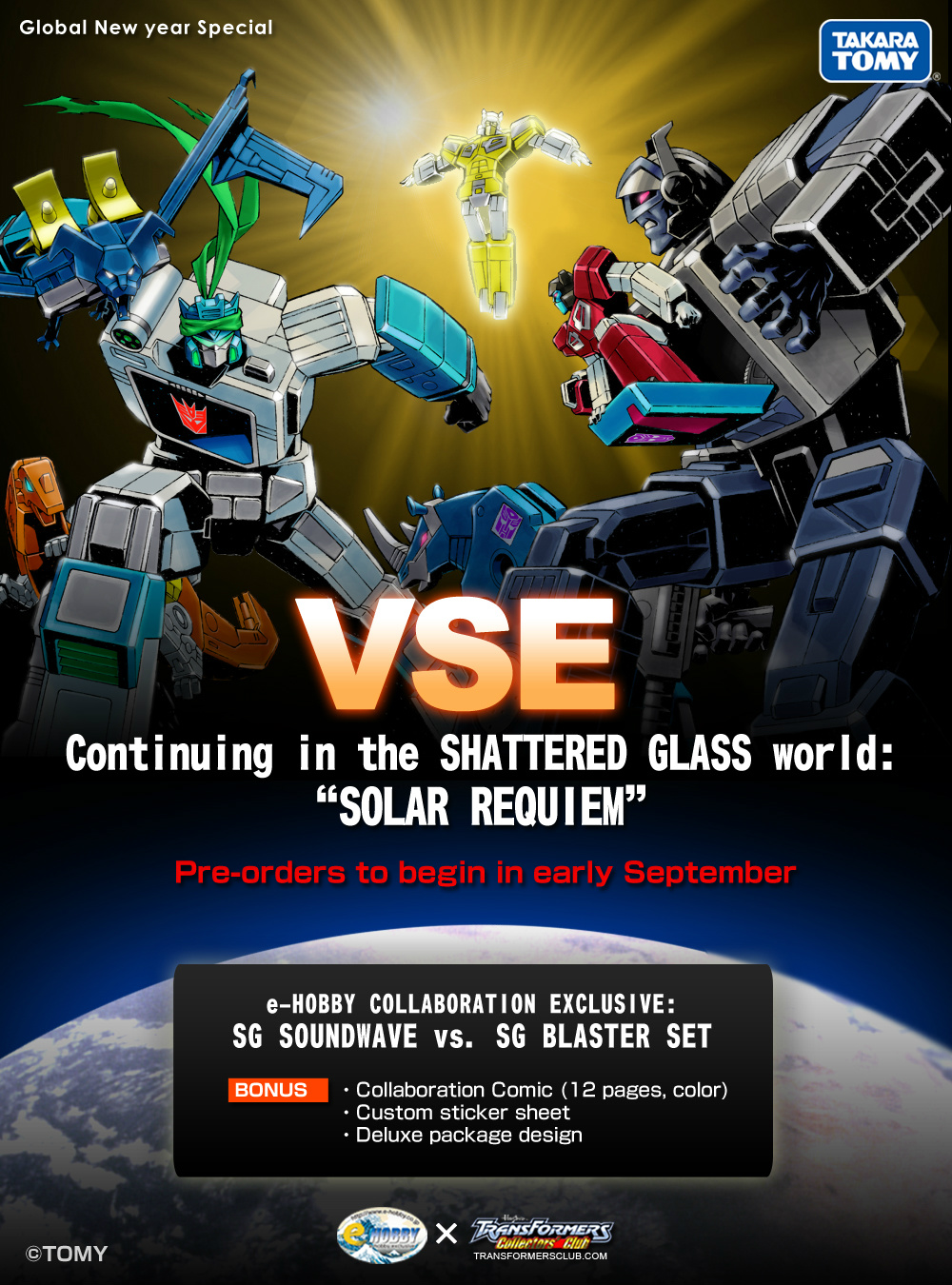 Exclusive Shattered Glass G1 transformers from Japan