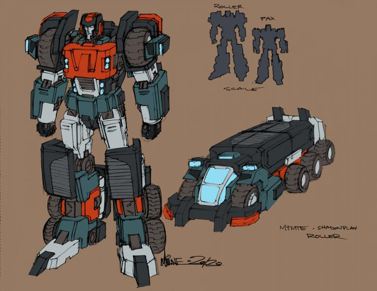 Could Roller be Tarn in Transformers: More Then Meets the Eye?