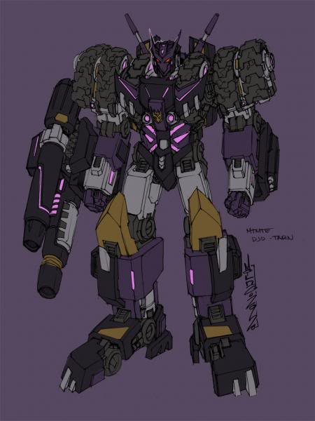 Transformers more than meets the eye comic Tarn artwork