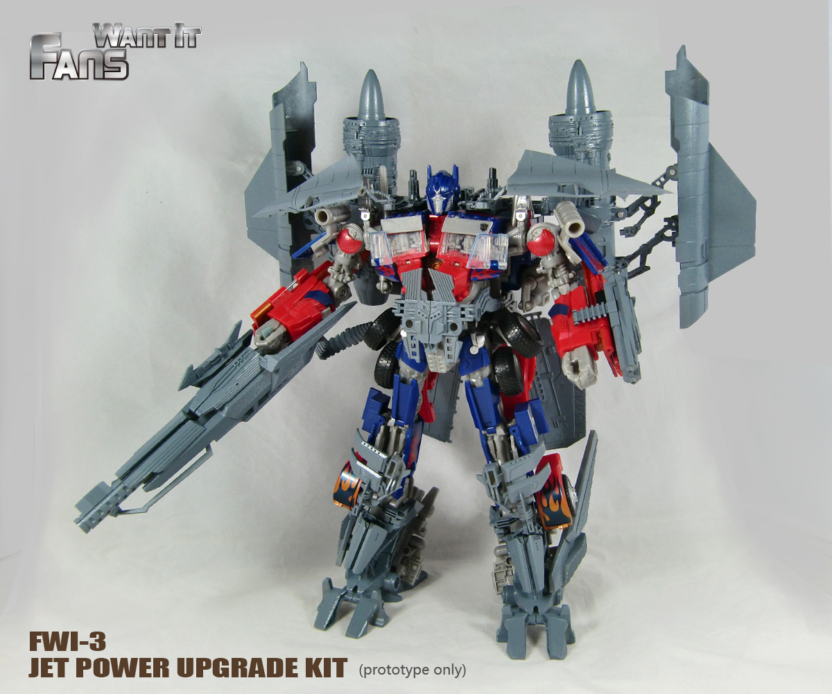 Fans Want It Powered up Optimus Prime