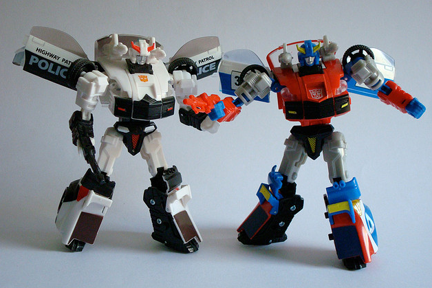Masterpiece 16 and 17 – Prowl and Smokescreen.  Where's Silverstreak?