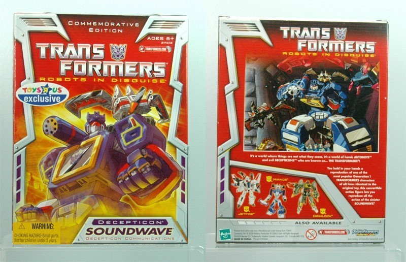 Soundwave toys for sale on Ebay – $.99 start price auctions