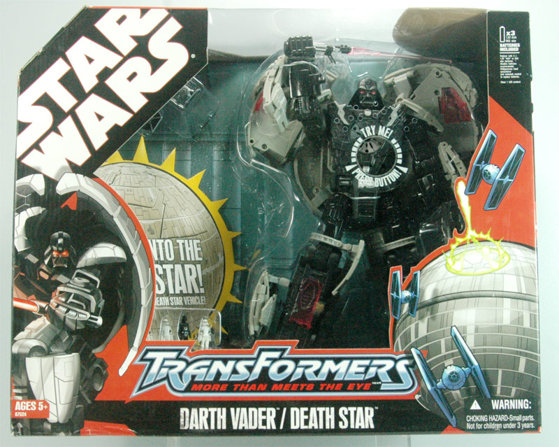 Near complete collection of Star Wars Transformers MISB for sale on Ebay $.99 auctions!