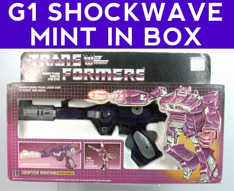 Transformers Shockwave items for sale on Ebay