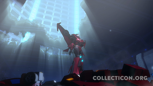 Transformers-combinerwars-windblade-standing-on-computron-machinima