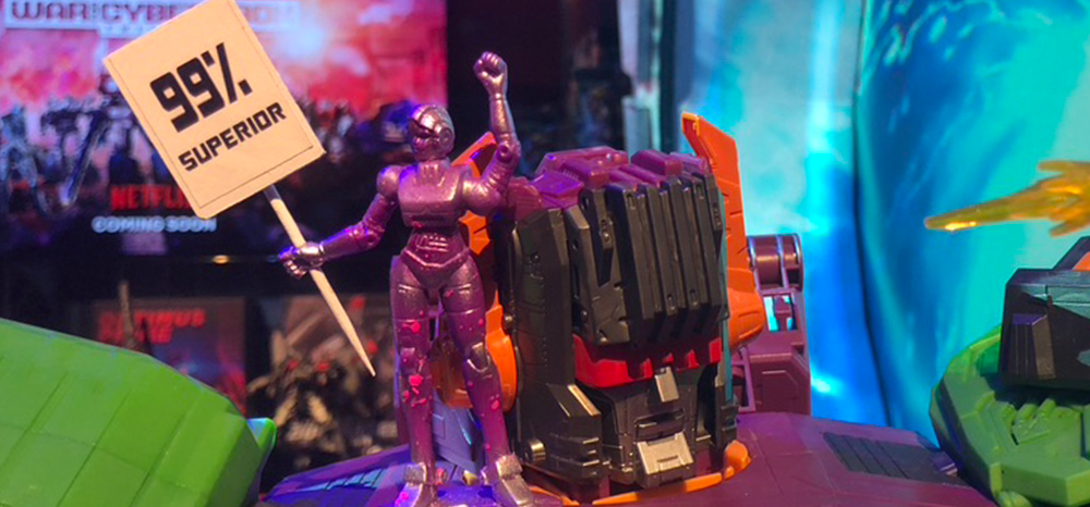 Hasbro Toyfair 2020 Transformers display photos