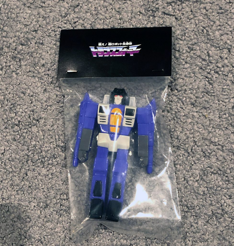 Paralyzing Toys Purple Air Warrior Jetron from Wonderfestival 2020 in japan in package