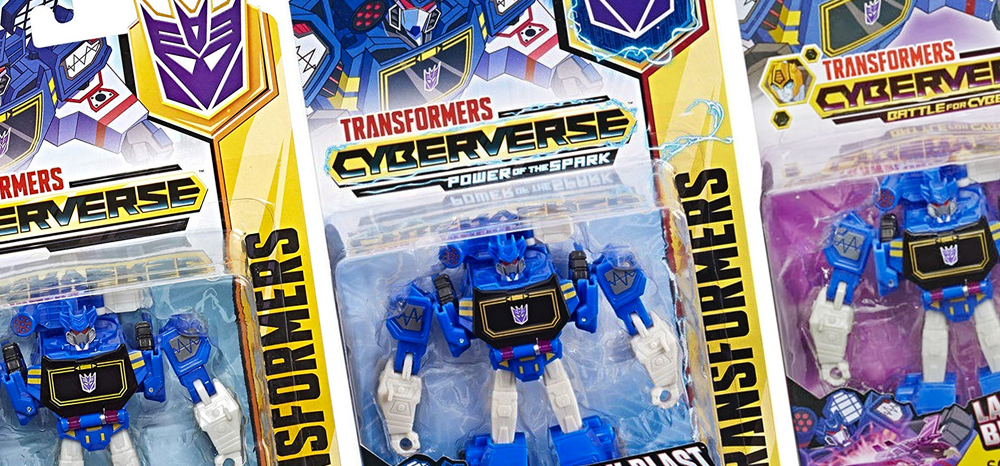 Cyberverse Warrior Soundwave – Packaging Variant details