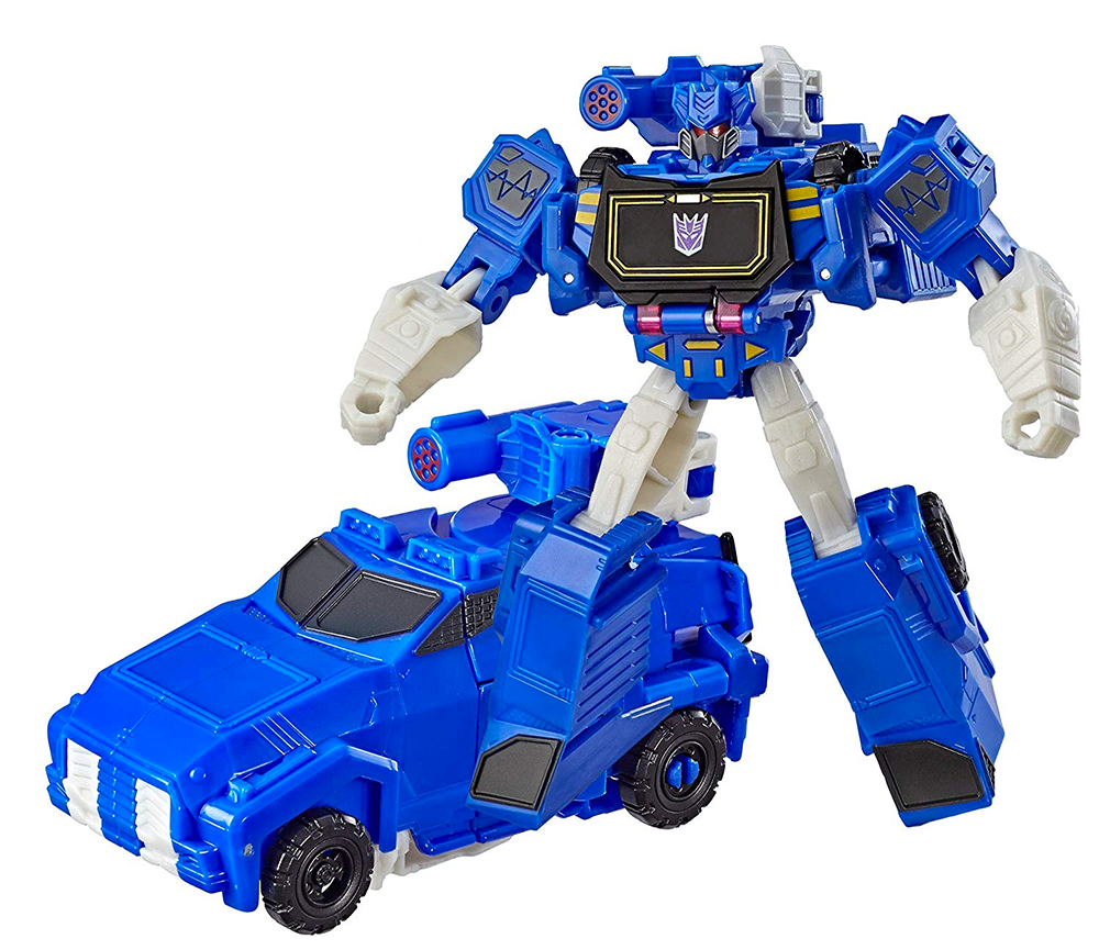 Transformers Cyberverse Warrior Class Soundwave Toy Vehicle Robot