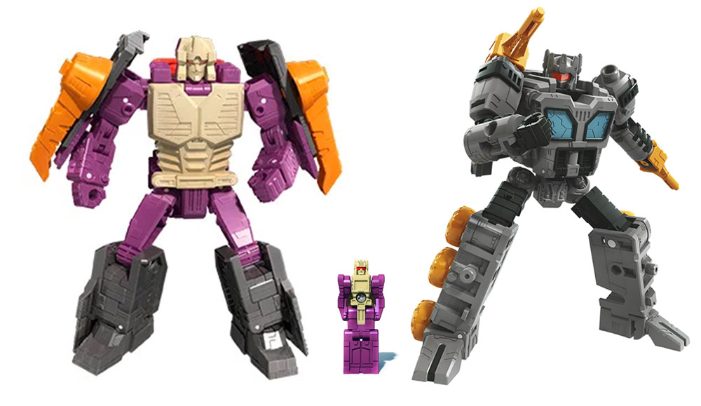 Transformers War For Cybertron: Earthrise Lord Zarak Fasttrack Renders