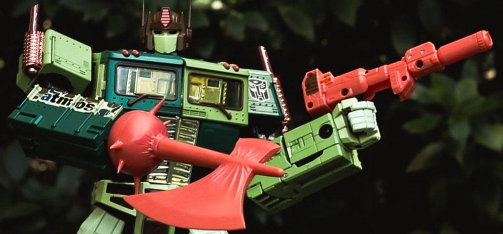 Transformers Masterpiece MP-10DC Atmos Duck Camo Optimus Prime Convoy Lives
