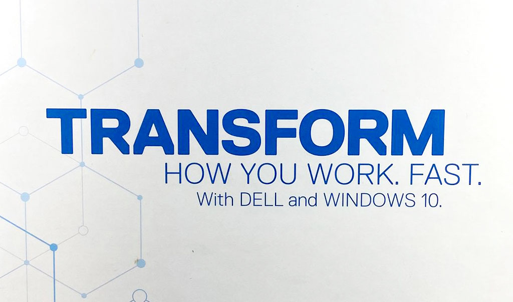 Dell Technologies Transformers logo promo