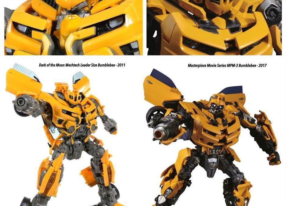 More MPM-3 Masterpiece Movie Bumblebee comparison images