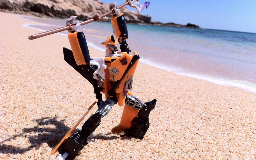 Terradive and I bid farewell to the beaches of Cybertron