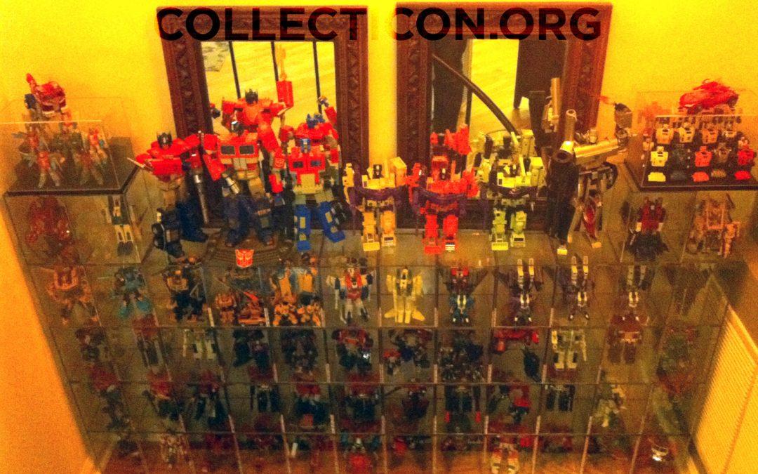 Transformers collection vs. basement flood
