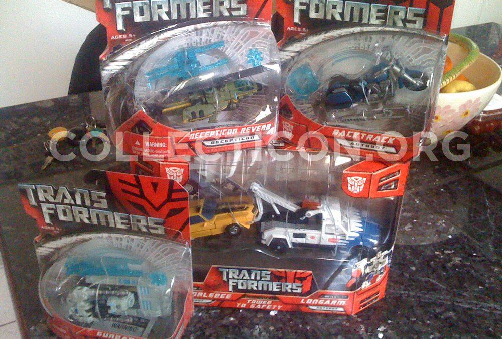 Lost and Found: Transformers Movie 1 Backtrack, Gunbarrel, and Decepticon Reverb