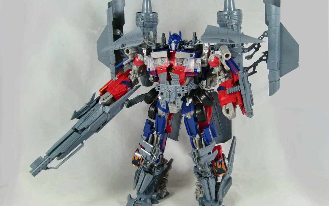 ROTF powered-up Optimus Prime finally gets his day, albeit 3rd party style