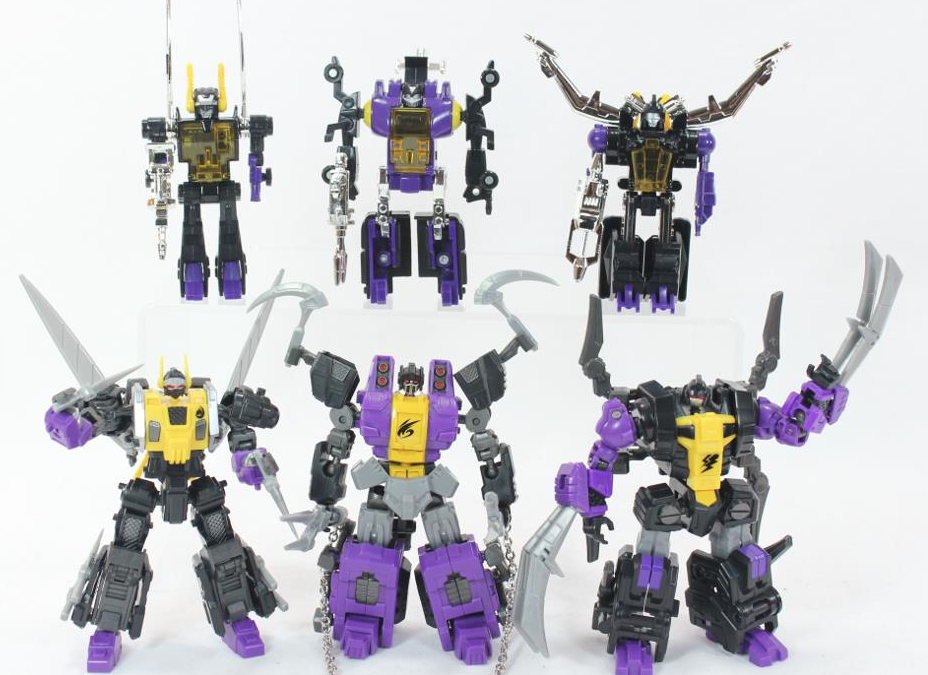 Fansproject Insecticon prototype gallery on TFsource.com facebook – pretty