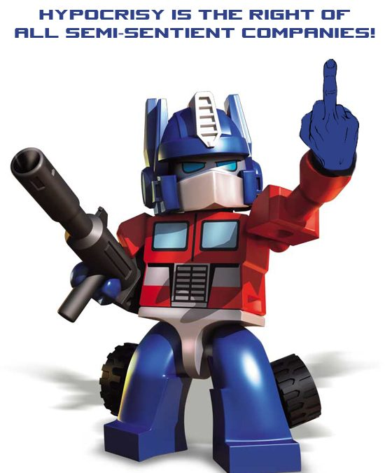 Hasbro takes a stand against their fans and customers – all the while KREO is full steam ahead