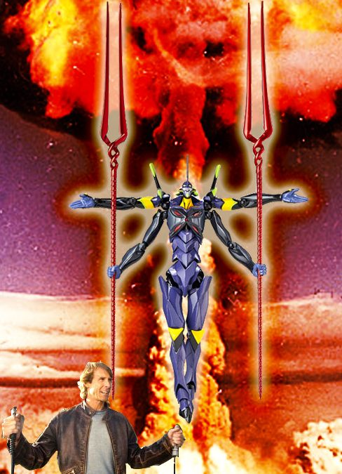 "Michael Bay interested in directing ""Neon Genesis Evangelion"" live action film?"