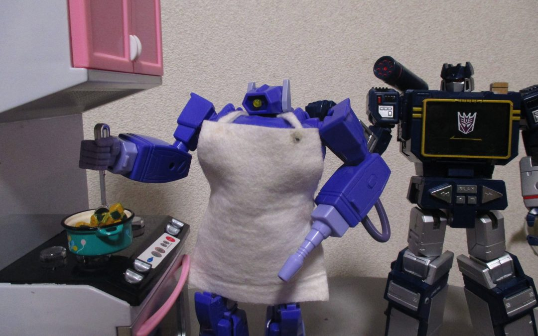 Masterpiece Shockwave cooking