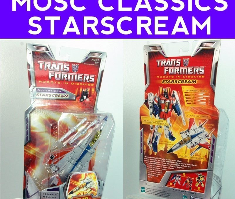 Extra Starscream figures I have for sale on Ebay starting at $.99