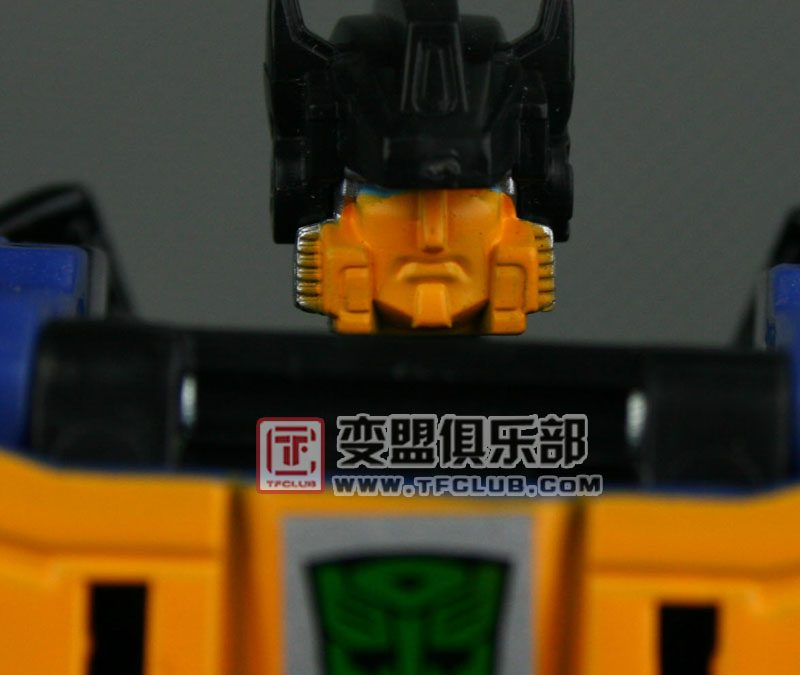 Transformers Collector Club Punch can't see!