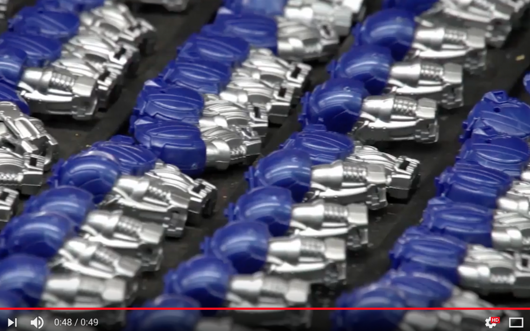 Footage of Transformer toy assembly and production in Veitnam – how Transformers are made