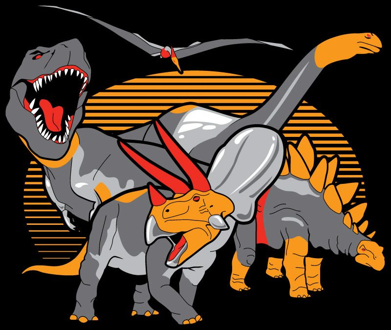 Real-life dinobots t-shirt coming from RIPT tomorrow – The Land Before Prime