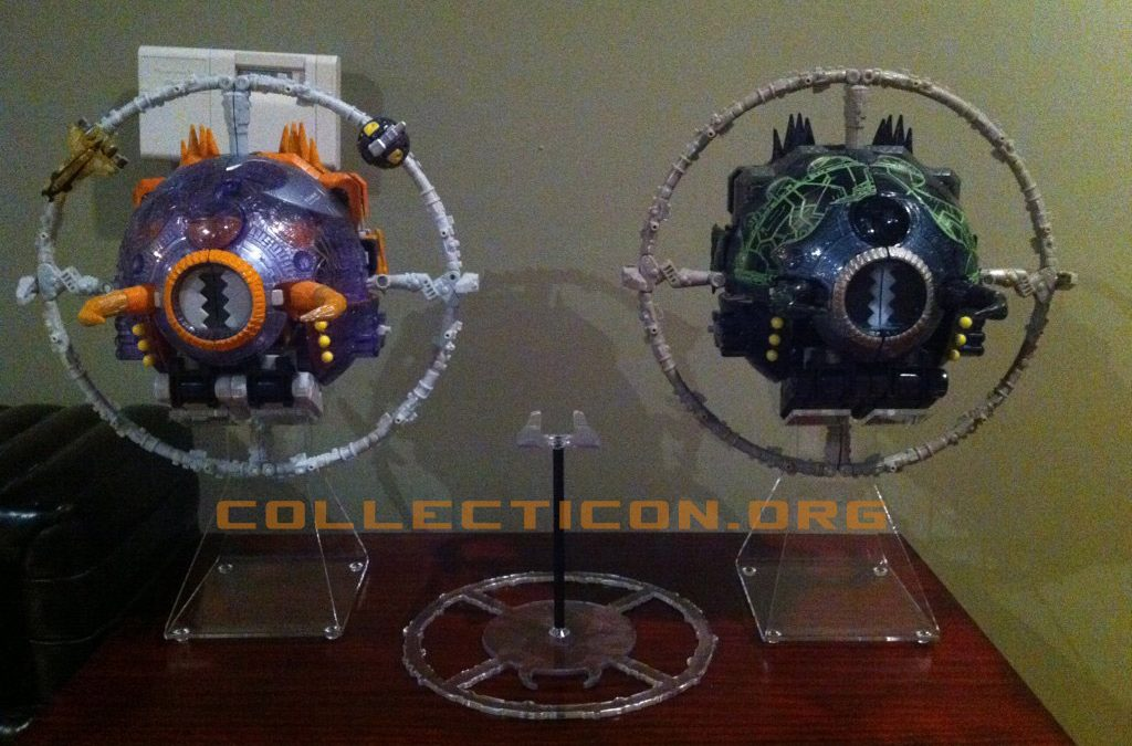 Closer look at Brownnoize Productions Unicron Throne of Chaos