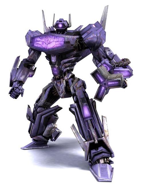 Transforemrs War For Cybertron Shockwave CG Model