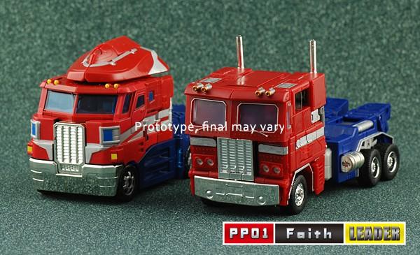 PP01 iGear Mini Masterpiece Convoy vehicle mode