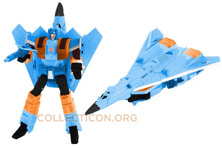 Transformers Botcon 2010 G2 Generation 2 Silverbolt