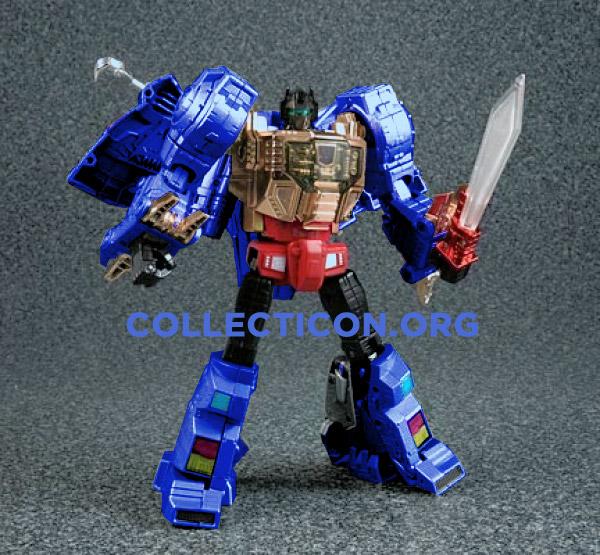 Botcon 2010 Wildcard Generation 2 Blue Masterpiece Grimlock