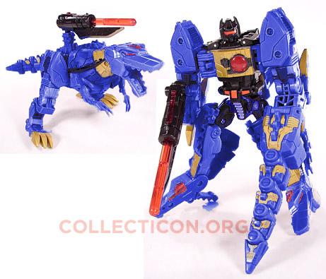 Transformers Generation 2 G2 Blue Grimlock for botcon 2010 digibash