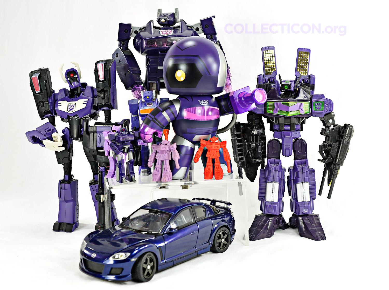 Transformers Shockwave and Laserwave