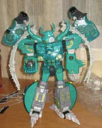 Lucky Draw Micron Legend Green Unicron up on Ebay