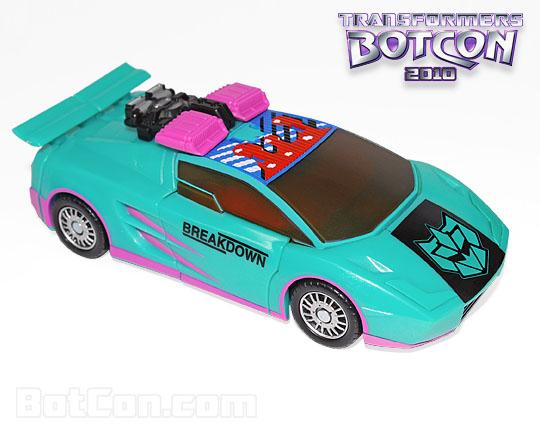 Botcon 2010 Generation 2 Breakdown car mode