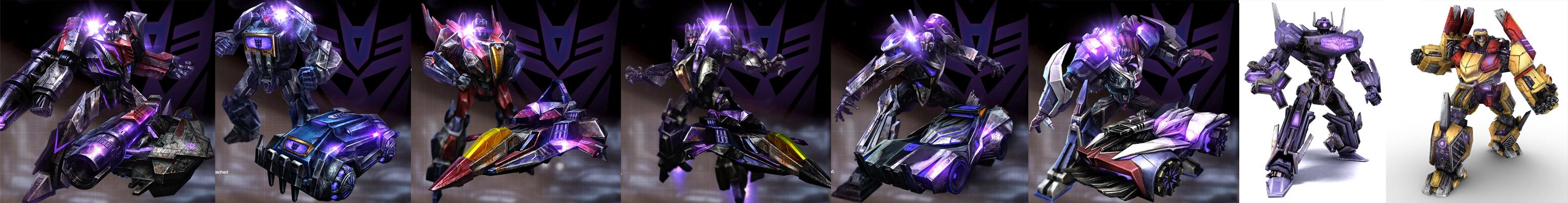 Transformers War for Cybertron Decepticon roster thus far