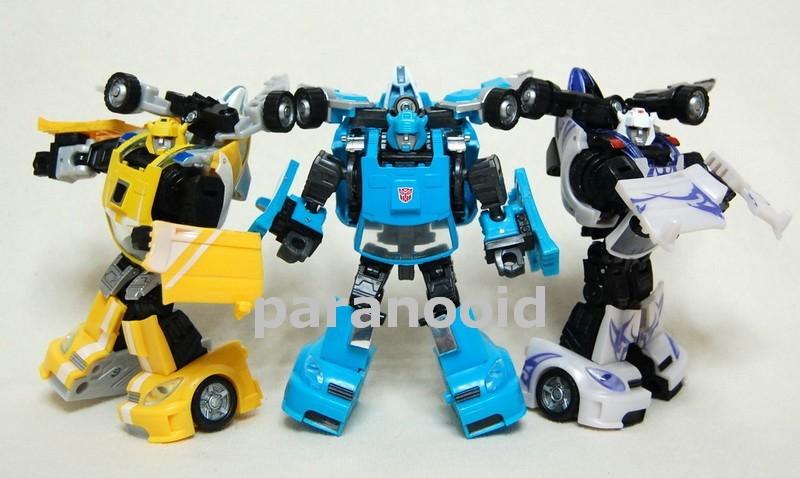 Transformers Classics Blue Bumblebee now on Ebay!