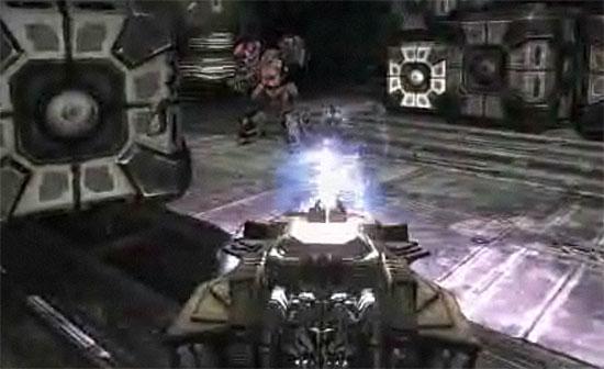 Transformers War For Cybertron Demolisher in tank mode - screenshot