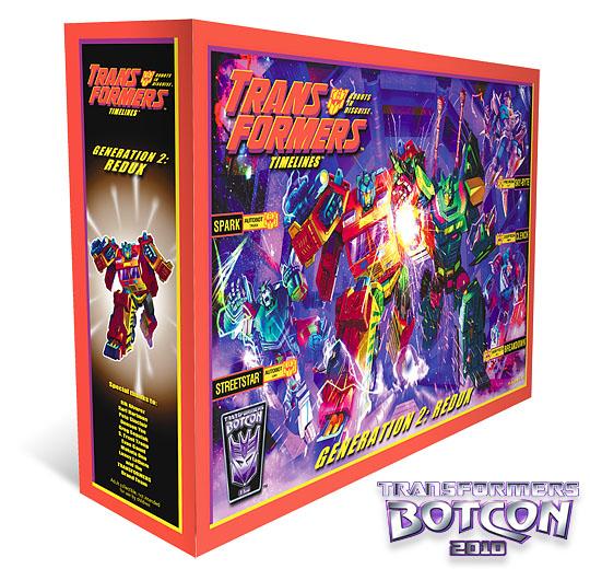 botcon 2010 boxset art