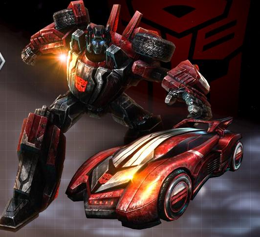 War for Cybertron Sideswipe