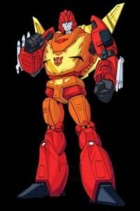 Transformers 2010 G1 Rodimus Convoy