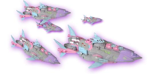 Botcon 2010 Sharkticon swarm
