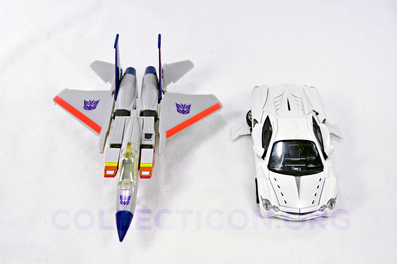 Transformers Generation 1 Starscream meets Alternity Starscream